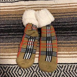 Winter socks with grip never worn